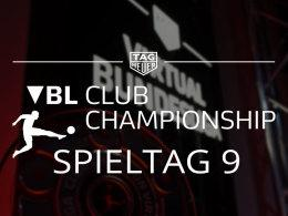 VBL Club Championship: Die Highlights des 9. Spieltages.