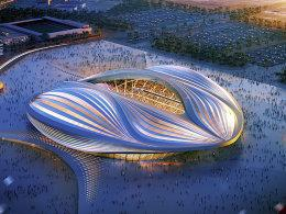 Al-Wakrah-Stadion in Katar (Illustration)