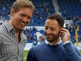 Julian Nagelsmann und Domenico Tedesco (re.)