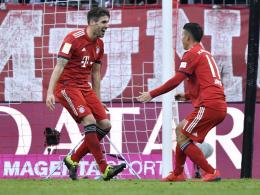 Javi Martinez und James