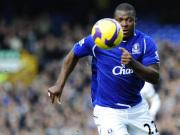 Fußball, Premier League: Yakubu (FC Everton)