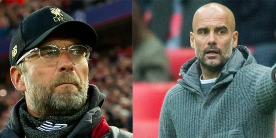 Jürgen Klopp vs. Pep Guardiola