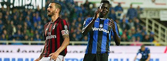 Leonardo Bonucci (links) und Musa Barrow