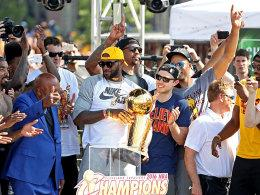 Meister in Miami, Meister in Cleveland: LeBron James.