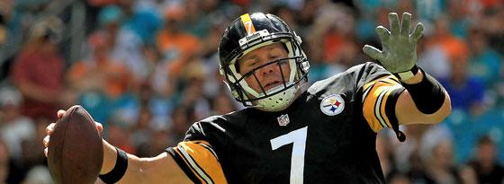 Ben Roethlisberger von den Pittsburgh Steelers.