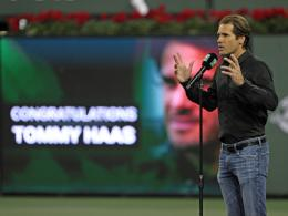 Tommy Haas in Indian Wells