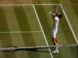 Triumph an der Church Road: Novak Djokovic.