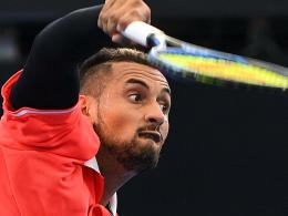 Nick Kyrgios in Brisbane