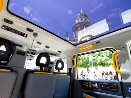 London Taxi Interieur