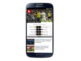 kicker Android App