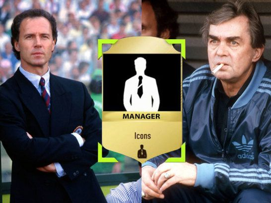 Manager Icons in FUT