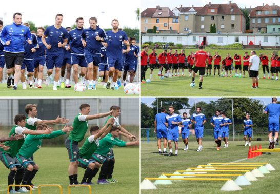 Trainingsauftakt in Liga 3
