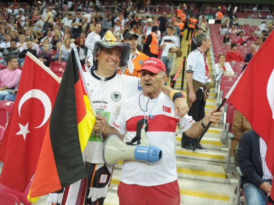 Fans in Istanbul