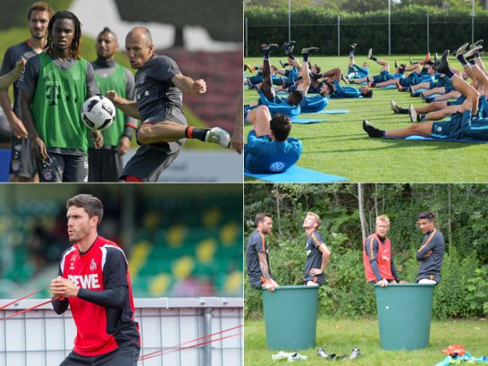 Trainingslager der Bundesligisten