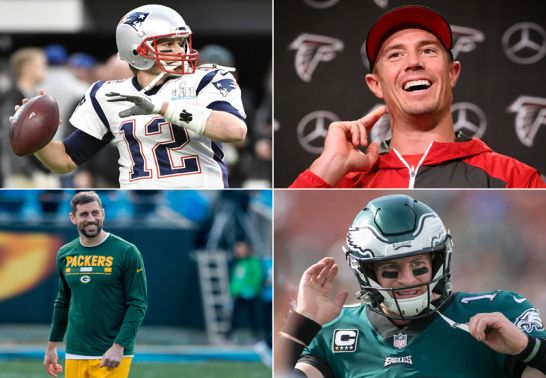 Die NFL-Quarterbacks 2018