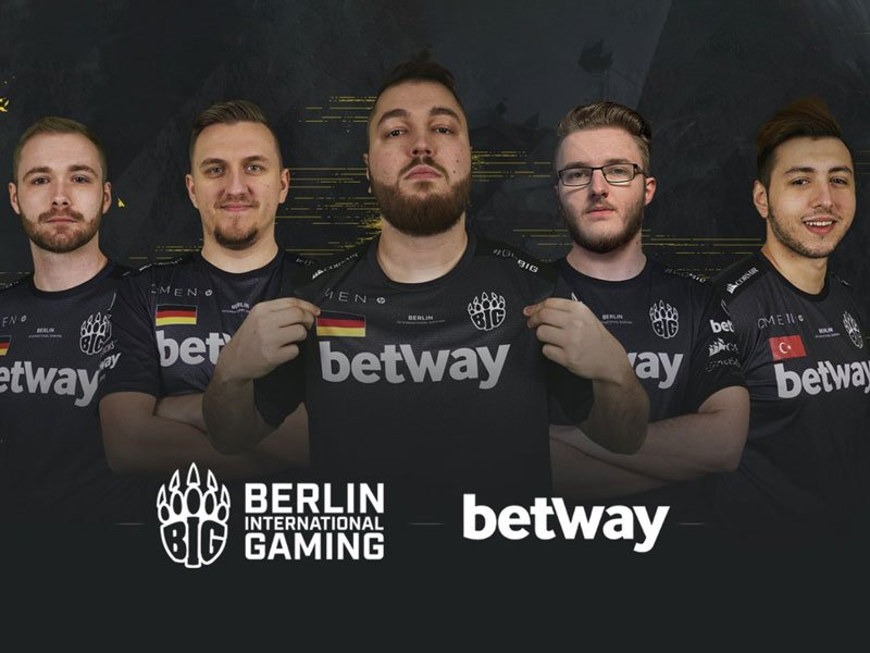 Betway und die deutsche eSport-Organisation BIG besiegeln Sponsor-Deal.