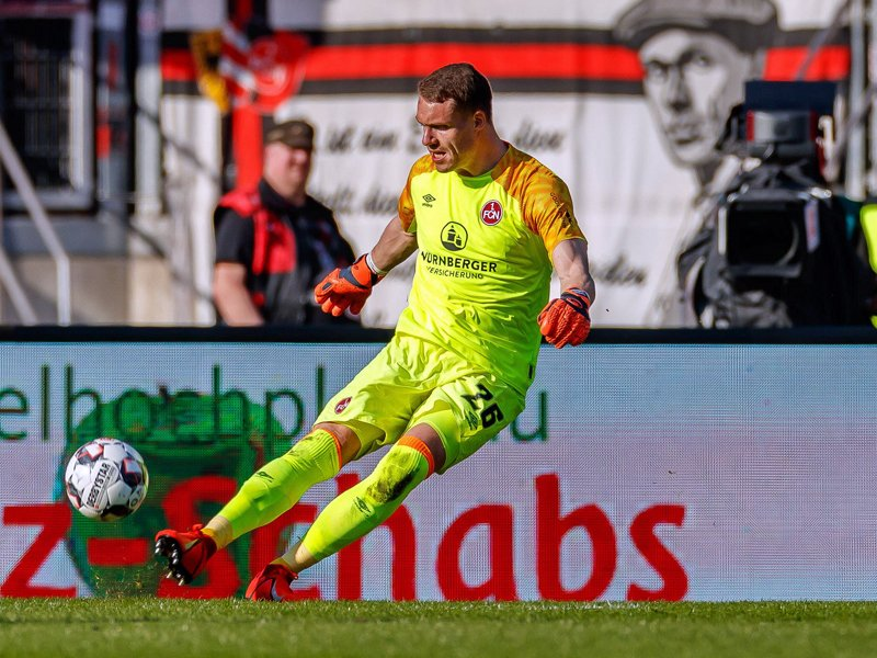 Er glaubt an seine Mannschaft: Club-Keeper Christian Mathenia.