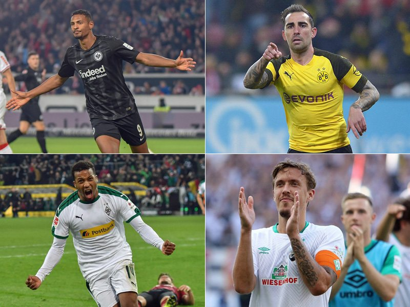 kicker-Rangliste, Winter 2018/19: Sturm
