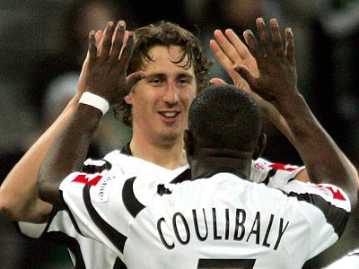 Roel Brouwers (li.) und Soumaila Coulibaly