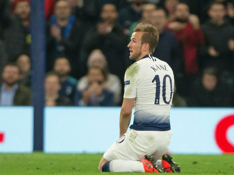 Tottenhams Torjäger Harry Kane
