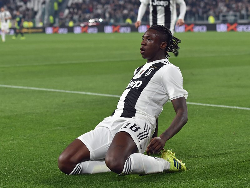Juves Youngster Moise Kean