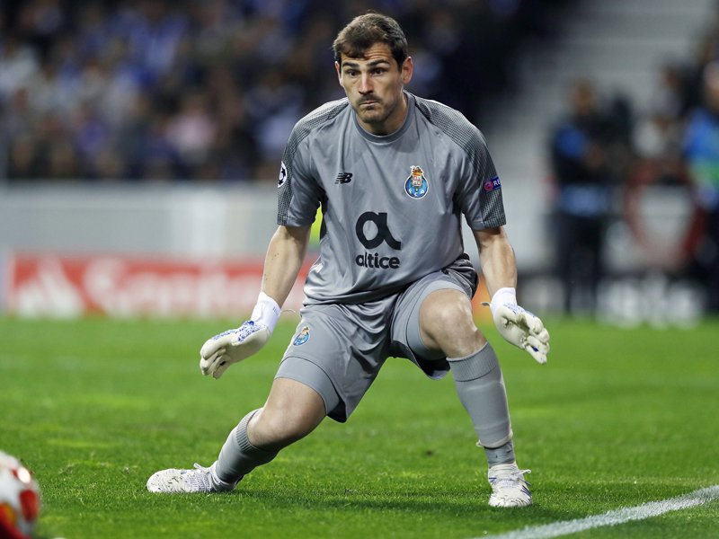 Portos Torwart Iker Casillas