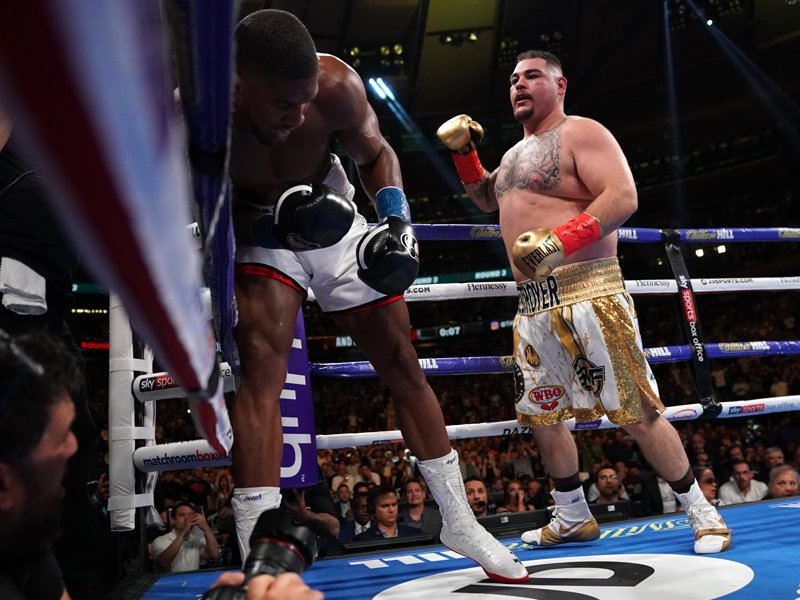 Anthony Joshua und Andy Ruiz Jr.
