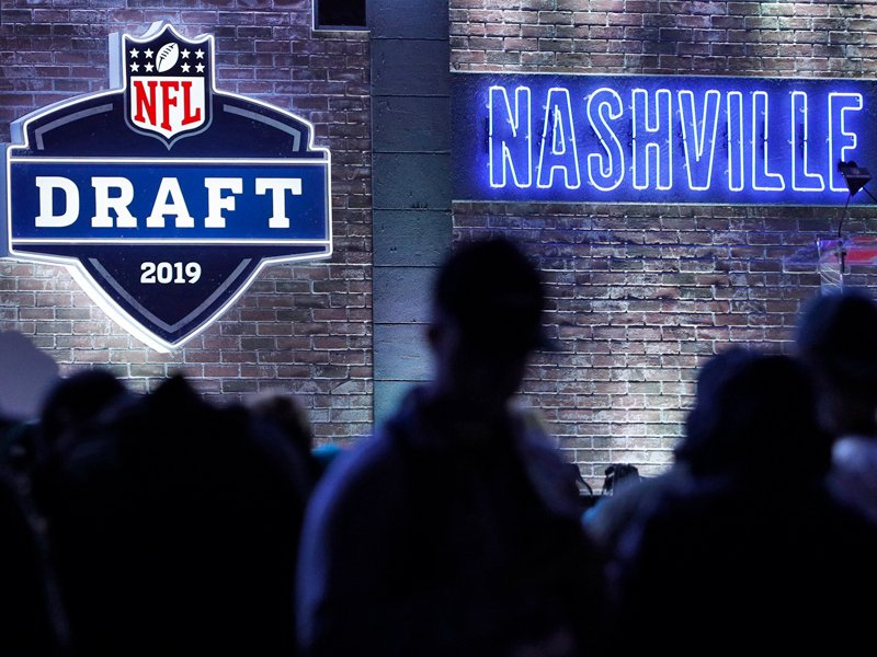 Der NFL-Draft in Nashville, Tennessee