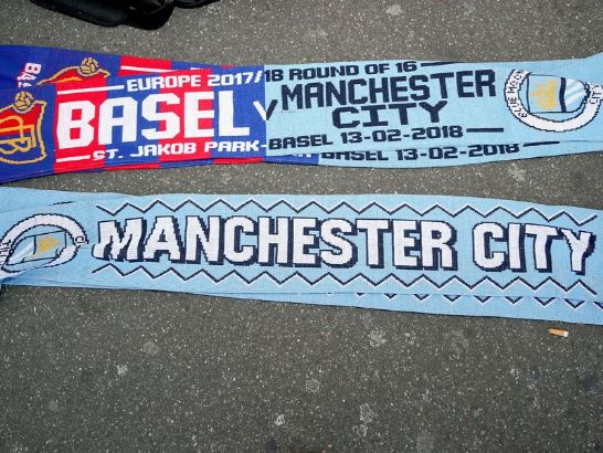 FC Basel - Manchester City 0:4